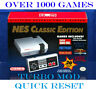 Nintendo NES Classic Editiion Mini Console 1,000+ Games SNES Genesis Game gear