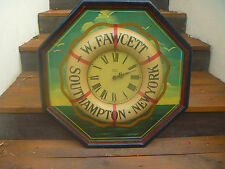 "tableau  horloge country corner ""FAWCETT SOUTHAMPTON"" collector RARE!"