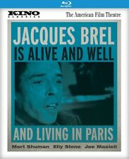 Jacques Brel Is Alive & Well & Living Paris (1975) (REGION A Blu-ray New)