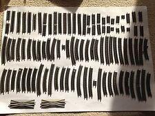 Trix, Minitrix, Spur N, großes Konvolut Gleise, ca. 100 Stück, Schnäppchen !!!