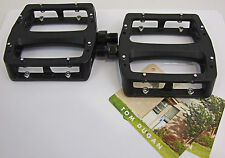 ODYSSEY BMX GRANDSTAND ALLOY PEDALS - BLACK - BMX BIKE - TOM DUGAN
