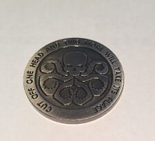 LOGISTICS DIVISION CUT OFF ONE HEAD AND TWO MORE  CHALLENGE COIN H5