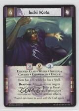 2011 Legend of the Five Rings CCG - Before Dawn #66 Iuchi Kota Gaming Card 1i3