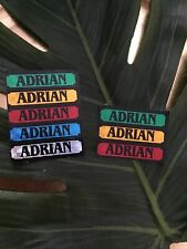 8xADRIAN Name Stickers ,retro But Unused ,ideal For Cards Crafts Gadgets Etc