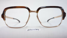 Vintage Glasses Gold/Brown Spectacle Frame 1970s Rare from Marwitz Germany
