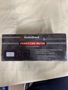 RadioShack Power SWR Meter CB High Frequency Ham Radio 2000 Watts New