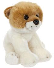 Plüschtier Hund Zwerg Spitz Kuscheltier, Happy Stofftier Welpe sitzend ca.22cm
