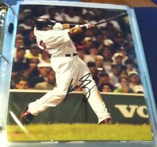 Manny Ramirez Autograph Photo With COA