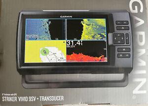 Garmin STRIKER Vivid 9sv Marine GPS with GT52HW-TM Transducer 010-02554-00