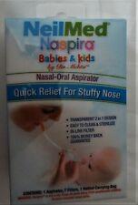 NeilMed -Naspira Babies & Kids Nasal Oral Aspirator quick relief for stuffy nose