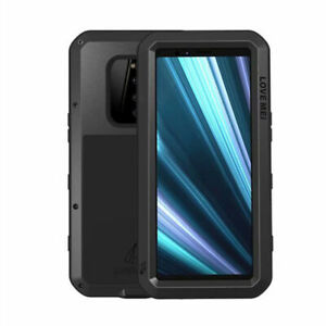 Waterproof Shockproof Aluminum Gorilla Glass Metal Cover Case For Sony Xperia 1