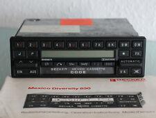 Becker Mexico Cassette BE0830 Mercedes Benz Autoradio BE 830 inkl. Anleitung