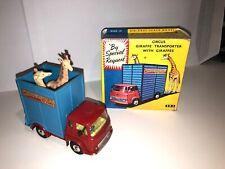 Corgi Toys Chipperfields Circus Nr.503, Giraffe Transporter / Cage - Mint in Box