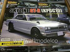 Fujimi ID-33 1/24 Nissan SKYLINE GT-R KPGC10 1971 2-Wheel-Option Rare from Japan