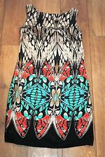 NEW&TAGS DOROTHY PERKINS butterfly print dress SIZE 8 party unusual boho RRP £36