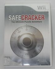 Wii Safe Cracker The Ultimate Puzzel Adventure Works. Disc and Case  – No Instru