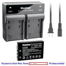 Kastar Battery Rapid Charger for Kodak KLIC-5001 & Kodak EasyShare Z760 Zoom