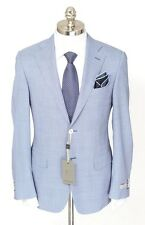 Mens CANALI 1934 Gray Houndstooth Wool 2Btn Sport Coat Jacket 48 6R 38 R NWT