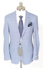 Mens CANALI 1934 Gray Houndstooth Wool 2Btn Sport Coat Jacket 48 6R 38 R NWT
