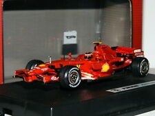 Hot Wheels Racing L8779 Ferrari F2008 Kimi Raikkonen 1/43
