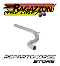 RAGAZZON TUBO CENTRALE NO SILENZIATORE OPEL CORSA D 1.6 TURBO OPC Nürburgring