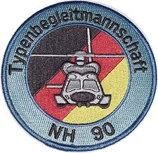 Écusson patch NH 90 typenbegleitmannschaft... a4991