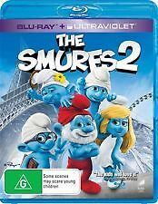 THE SMURFS 2 - BRAND NEW & SEALED BLU RAY + UV COPY (NEIL PATRICK HARRIS) 2013