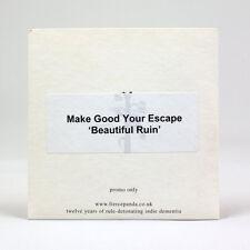 Make Good Your Escape - Beautiful Ruin - music cd ep