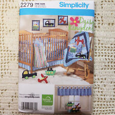 Simplicity 2279 Nursery Quilt & Toy Accessories Pattern