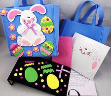 Kids Crafts - Easter Tote Bag (6x7in) Craft Kit (2) PLUS Easter Bookmark Kit!