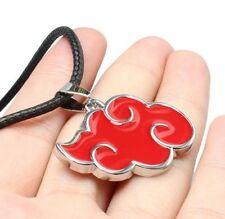 Fd4781 Naruto Sasuke Itachi Akatsuki Cloud Pendant Necklace Jewelry ♫