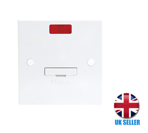 13A Fused Spur Unit With Flex Outlet & NeonKnightsbridge ST6000N