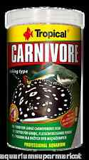 Tropical Carnivore Pellets 300g food for large fish - Aussie Seller