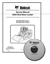 Bobcat S630 Skid Steer Workshop Repair Service Manual CD + Download 6987160