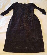 Grace Hill Black Patterned Dress