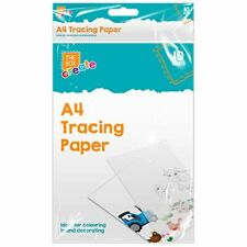 ULTRA THIN A4 TRACING PAPER SHEETS 40 GSM SEE THROUGH COPY DRAWING DRAFTING