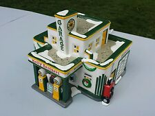 Holly Brothers Garage, Department 56 Snow Village, retired, 1995