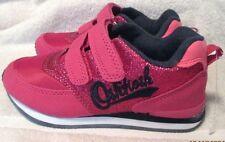NEW **OSHKOSH B'GOSH** Girls TODDLER Hot Pink/Navy Trim Sneaker Shoe,S.10M