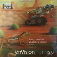Envision Math 2.0 4th Grade 4 Etext Student Edition CD-Rom Software