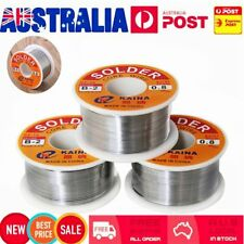 63/37 0.8mm Tin Lead Rosin Core Solder Flux Soldering Welding Iron Wire Reel DS