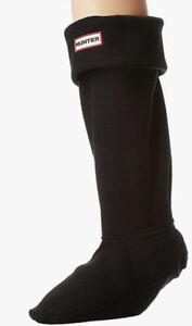 NWOT Hunter Women's Boot Socks Black Size L