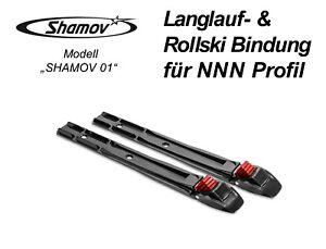 NNN & Prolink Langlauf- Skating- Ski- & Rollski Bindung Model 01 Neu