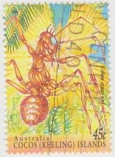 Insects Australian Cocos Islander Stamps