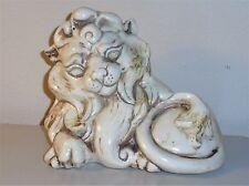 Vintage Kay Finch LION, CAT #849 Freeman & McFarlin, CALIFORNIA Potteries Feline