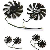 Graphics Card GPU Cooling Fan Cooler for ZOTAC GeForce GTX 1080 1070 AMP Edition
