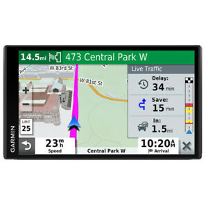 "Garmin DriveSmart 65 & Traffic GPS Navigator with 6.95"" Display"