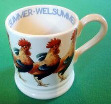 NEW Rare & Discontinued Emma Bridgewater Welsummer Hen Chicken 1/2 Half Pint Mug