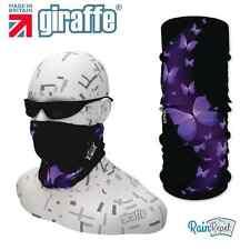 G324 FARFALLE Balaclava bandana Face Mask Necktube SCIARPA COPRICOLLO SCALDA headgea