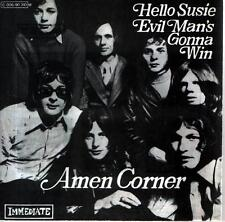 "7"" Cover Amen Corner Hello Susie / Evil Man`s Gonna Win (Only Cover) 60`s"
