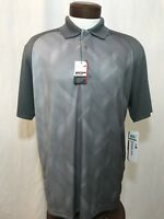 NWT GrandSlam Large S/S Grey Polo Shirt